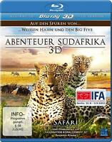 Blu-Ray - Adventure South Africa 3D - Safari New/Original Package 2D Version)