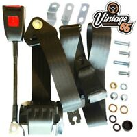 Bmw 1502,1600,1602,1802,2002 Coupe 1966>76 Front 3 Point Automatic Seat Belt Kit