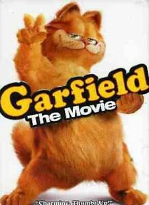 GOOD DVD Garfield - The Movie 2004 Jennifer Love Hewitt Bill Murray