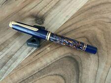 Pelikan Souveran M800 Fountain Pen - Stone Garden - Fine Nib 18 K