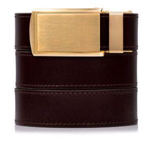 SlideBelts Factory Seconds Men's Cordovan Full Grain Leather Ratchet Belt