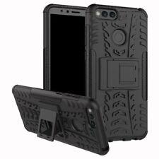 Etui Hybride 2 pièces outdoor, coloris noir housse étui pour Huawei Honor 7x