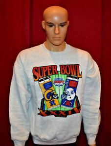 Vintage 2000 ST LOUIS RAMS Super Bowl XXXIV Sweatshirt Mens SZ L