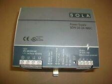 Sola 24vdc Power Supply SDN 20-24-100P  380-500v  Input   24VDC OUTPUT @ 20AMPS