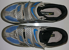 Nike Cycling Shoes Womens US O8 Blue Silver Carbon Comp