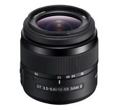 Objetivos Sony DT F/3, 5 18-55mm para cámaras