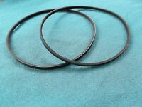 2 NEW DRIVE BELTS MADE IN USA FOR HICKORY MINI LATHE MC1018
