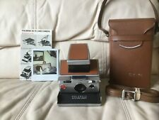 Polaroid SX-70 Instant Camera-Film & Flash Tested-Great-w/Case-Ships Same Day