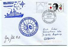 1997 Polarstern XIV/3 Bundesrepublik Deutschland Polar Antarctic Cover SIGNED