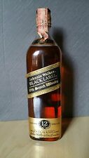 Johnnie Walker Black Label 75 cl - 12 Years Old - Extra Special - Anni 70/80