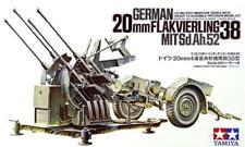 Tamiya 35091 WWII German Flakvierling 38 Model Kit Scale 1 35