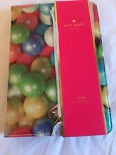 Kate Spade New York Folio HardCase For iPad Mini Gumballs Multi- New //