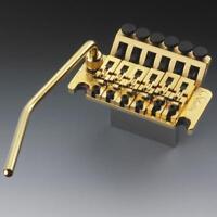 NEW Schaller Floyd Rose Locking TREMOLO + ARM Guitar Parts Gold SB-0290-002