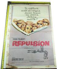 Repulsion Movie Poster, 1965, Original