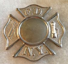 1930's Super Nice Unused New York City Fire Dept. Badge Blank,*Bannermanns*