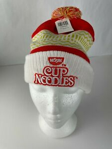 NWT Cup Of Noodles Nissin  Beanie Orange