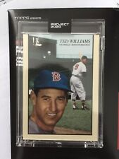 Topps Project 2020 Ted Williams #90, Oldmanalan Boston red Sox