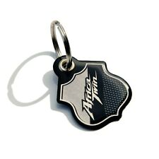 Keychain Resin Compatible With Motorcycle Honda AFRICA TWIN - Silver