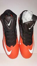 Nike Zoom Code Elite Football Cleats Browns Orange  620499-208 Mens Size 16 New
