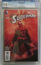 Superman vol 3, #33 - John Romita, Jr. Color Variant Cover 1:100 - CGC 9.8