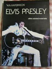elvis presley.livre de wa harbison.160 pages.1977.