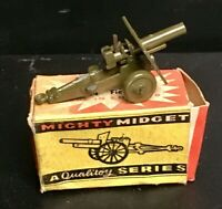 BENBROS MIGHTY MIDGET 24 'ARMY FIELD GUN'. QUALITOY SERIES. BOXED.