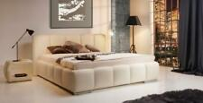 Bed Leather Bed Upholstered Bed Box Double Bedroom Double Bed Beds Carrera