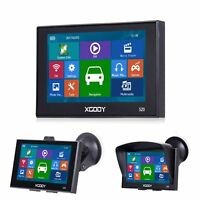 XGODY 5'' GPS Navigation Device Car Truck SAT Nav 256MB Built-in MP3 2D 3D Map