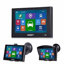 XGODY 5'' GPS Navigation Device Car Truck SAT Nav 256MB Built-in MP3 2D 3D Map