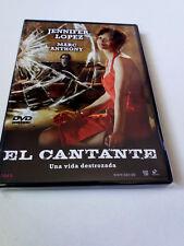 "DVD ""EL CANTANTE"" LEON ICHASO JENNIFER LOPEZ MARC ANTHONY"