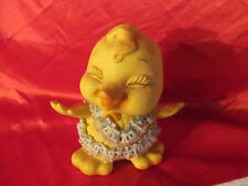 Vintage Yellow Chick Bank by Royalty