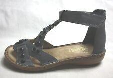 RIEKER Sandale grau Gr.:36
