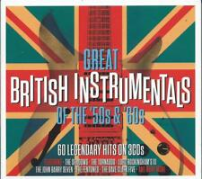 Great British Instrumentals Of The '50s & '60s - 60 Legendary Hits (3CD) NEW