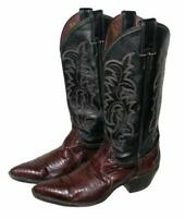 """ JUSTIN "" Damen- Western- Stiefel / Lederstiefel / Boots braun Gr. 7,5B ca. 38"