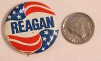 Reagan Pinback Button Political Vintage Ronald Reagan