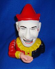 Clown Mechanical Bank New