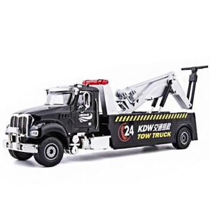 1:50 Diecast Alloy American Tow Truck Model Road Rescue Emergency Vehicles Toys