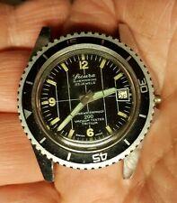 BIG SICURA by Breitling SWISS MADE SUBMARINE 200 MT 1960-70 ghiera girevole triz