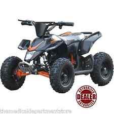 MotoTec 24v Mini Quad v3 Electric Powered Ride On Atv Kids Dream Toy - BLACK