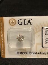 2.25 Carats GIA VS2 Round Diamond Wedding/Engagement Ring 18K White Gold GIA