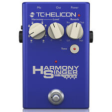 TC Helicon Harmony Singer 2 Vocal Processing USB Tone Control Reverb Pedal
