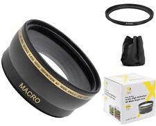 0.43x Pro Series Wide Angle Lens for Canon Vixia HF R800, HF R82, HF R80
