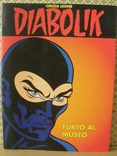 Diabolik Furto al museo Cinzia Leone Speciale Moncalieri Comics  (MP05)