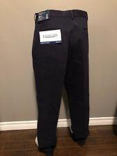 LAND'S END Men's Navy Blue Cotton Classic Chino Pants - Size 36W x 34L - NWT