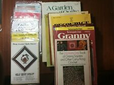 New Listing16 - Quilting, Needlecraft, Crochet, & Craft Books, Patterns