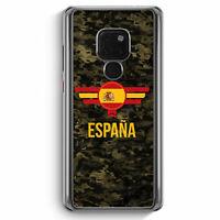 Espana Spanien Camouflage mit Schriftzug Huawei Mate 20 Hülle Motiv Design Mi...