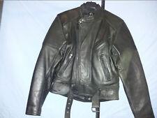 Driver Motorad Biker Lederjacke Rocker Vintage Classic Gr 50 Qualität 1A