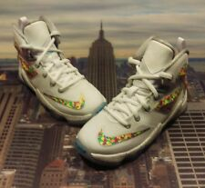 Nike LeBron XIII 13 QS Fruity Pebbles Cereal PS PreSchool Size 11c 846221 100