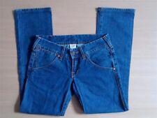 Damen Jeans Hose True Religion Gr 38 W28 L30 blau 100% Cotton Top