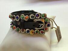 NWT Uno de 50 Leather Bracelet w/ Multi Color Beads